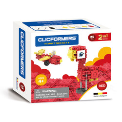 Clicformers Craft Set Rood - 25 Delig