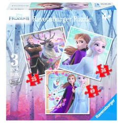 Disney Frozen 2 Puzzel - 3 in 1