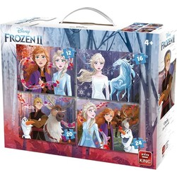 Disney Frozen 2 Puzzel - 4 in 1