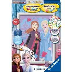 Schilderen Op Nummer Disney Frozen 2
