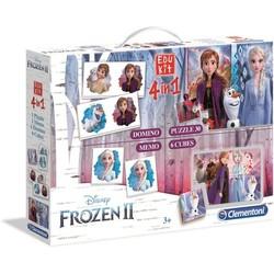 Disney Frozen 2 - Edukit 4 in 1 - Kaartspel - Puzzel