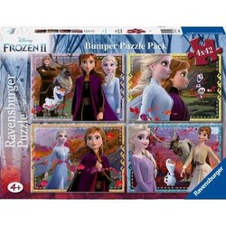 Frozen2 Puzzel 4X42 Bumperpack