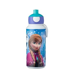 Mepal Campus Drinkfles Pop-up 400 ml - Frozen Sisters Forever