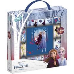 Frozen 2 Stickerbox 12 rolls + Boekje