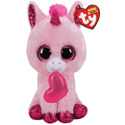 Ty Beanie Boo's Darling Heart Unicorn - 15cm