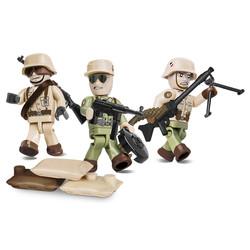 Afrika Korps Figures /Soldaten # Cobi 2034