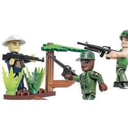 Vietnam War  Figures /Soldaten # Cobi 2038