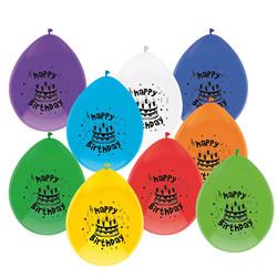 Ballonnen Happy Birthday - 10 stuks