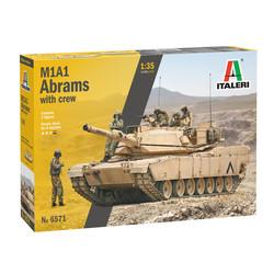 M1A1 Abrams -1:35 # Italeri 6571