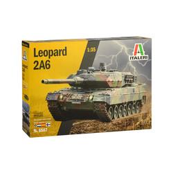 Leopard 2A6 - 1:35 # Italeri 6567