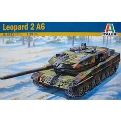 Leopard 2A6 - 1:35 # Italeri 6435