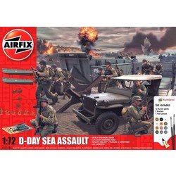 D-Day Sea Assault 1:72 # Airfix 50156