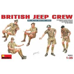 British Jeep Crew 1:35 # MiniArt 35051