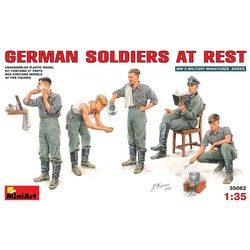 Duitse Soldaten 1:35 # MiniArt 35062