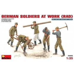 Duitse Soldaten 1:35 # MiniArt 35065