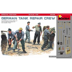 Duitse Tank Monteurs 1:35 # MiniArt 35319