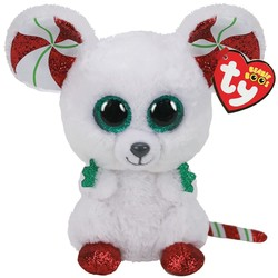 TY Beanie Boo's Christmas Mouse Chimney - 15 cm