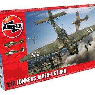 Junkers Ju87 B-1 Stuka 1:72 # Airfix 03087
