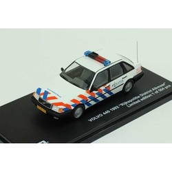 Volvo 440 1:43 Rijkspolitie District Alkmaar 1992 # Triple 9