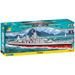 Battleship USS Iowa + USS Missouri # Cobi 4812