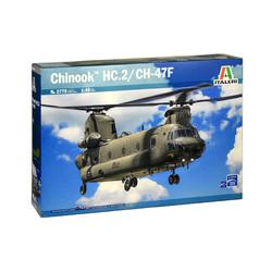 Chinook HC.2 CH-47F 1:48 # Italeri 2779