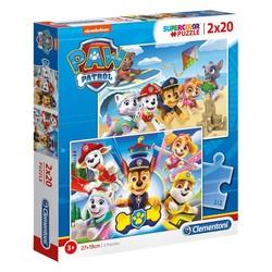 Paw Patrol Puzzel 2 x 20 stukjes