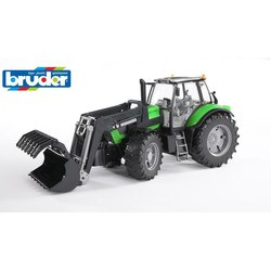 Deutz Agrotron X720 Met Voorlader 1:16 # Bruder 03081