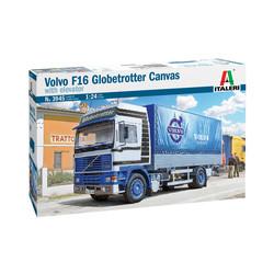 Volvo F16 Globetrotter Canvas 1:24  # Italeri 3945