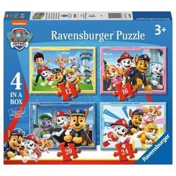 Paw Patrol Puzzel  12+16+20+24 Stukjes