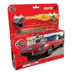 Jaguar E-Type 1:32 # Airfix 55200