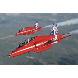 Hawk T1A Red Arrows 50 seasons 1:48 # Italeri 2747