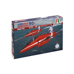 Hawk T1A Red Arrows 50 seasons 1:48 # Italeri 2747
