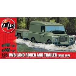 Landrover + Trailer 1:76 # Airfix 02324