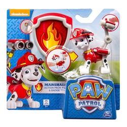Paw Patrol Marshall Met Badge