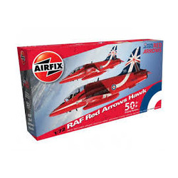 RAF Red Arrows Hawk 1:72 # Airfix 02005B