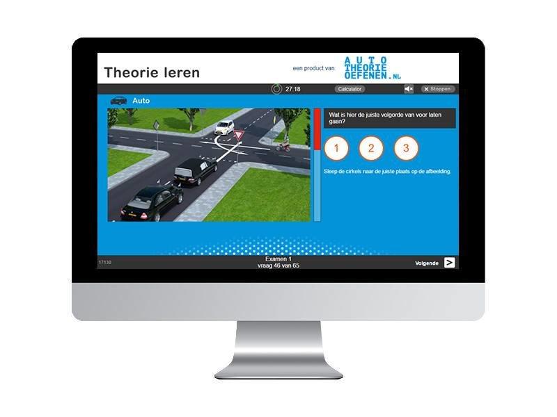 20 online auto theorie-examens