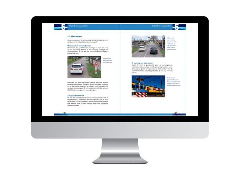 Online theorieboek, online examenboek en 5 uur examentraining