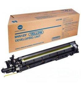 Konica Minolta Minolta DV-512Y (A2XN08D) developer yellow 600K (original)