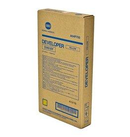 Konica Minolta Minolta DV-610Y (A04P700) developer yellow 200K (original)