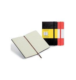 Moleskine Moleskine notitieboek 9x14cm geruit harde cover 192bl zw.