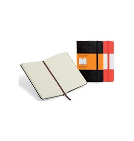 Moleskine Moleskine notitieboek 13x21cm gelijnd harde cover 192bl zw.
