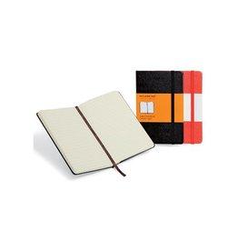 Moleskine Moleskine notitieboek 9x14cm gelijnd, harde cover, 192bl, zw
