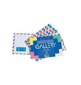 Gallery Gallery luchtpostenveloppen, ft 114 x 162mm, gegomd, 25st