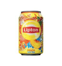 Lipton Lipton Ice Tea Perzik frisdrank, blik van 33 cl, 24 stuks