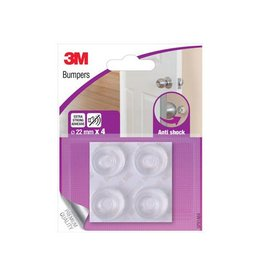 3M 3M Bumpers, Anti shock, 22 mm, blister van 4 stuks