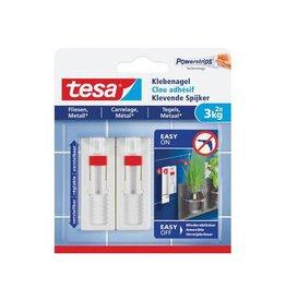 Tesa Tesa Klevende Spijker voor Tegels en Metaal, 3kg, 2st