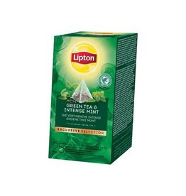 Lipton Lipton thee gr.e Thee Munt Exclusive Selection 25 zakjes