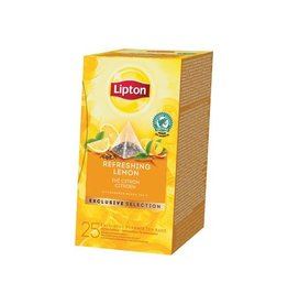 Lipton Lipton thee, Citroen, Exclusive Selection, doos 25 zakjes