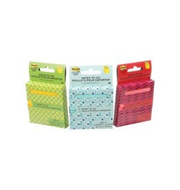 Post-it Post-it Z-Notes 'on the go' 76x76mm 100vel assorti [6st]