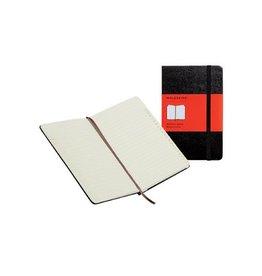 Moleskine Moleskine adresboek 13x21cm, gelijnd, harde cover, 192bl, zw
